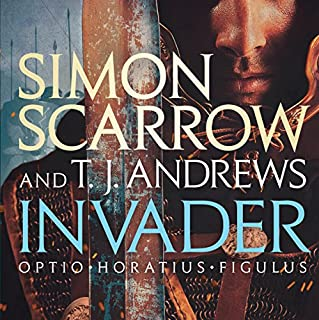 Invader                   By:                                                                                                                                 Simon Scarrow,                                                                                        T. J. Andrews                               Narrated by:                                                                                                                                 Jonathan Keeble                      Length: 13 hrs and 15 mins     128 ratings     Overall 4.6