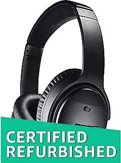 Bose QuietComfort 35 (Series I) Wireless Headphones, Noise Cancelling - Black (Renewed)