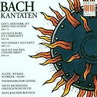 Bach: Kantaten Cantatas, BWV 79, 80, 192, 50 (1994-11-29)