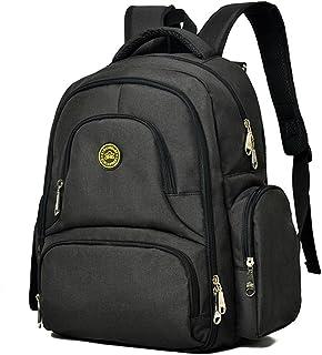YuHan Oxford baby blöjväska blöja ryggsäck byte dyna isolering ficka passform barnvagn
