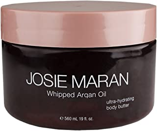 Josie Maran Whipped Argan Oil Body Butter (Super-Size (19 Ounce), Unscented)