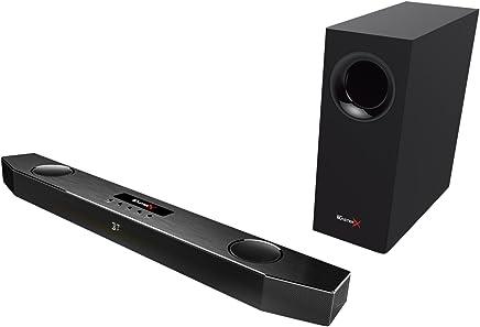 Creative Sound BlasterX Katana - Barra di Suono per gioco multicanale (Bluetooth, AUX-In, Headset out, Mic-in, Ingresso ottico; USB per PC, PS4, PS4 Pro e PS4 Slim) colore nero - Trova i prezzi più bassi