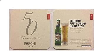 Peroni Italy Celebrate 50 Years of Italian Style 20 Beer Bar Pub Coasters New
