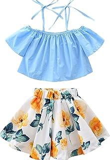 db9caaf760 SCFEL I Cinghie Blu del Cielo della neonata di Fuori dai Vestiti da  Cerimonia Nuziale della