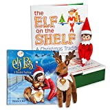 The Elf on the Shelf: A Christmas Tradition Blue Eyed North Pole Elf Girl with The Elf on a Shelf: Elf Pets Reindeer
