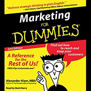 Marketing for Dummies, Second Edition audiobook cover art