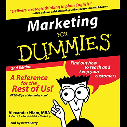 Couverture de Marketing for Dummies, Second Edition