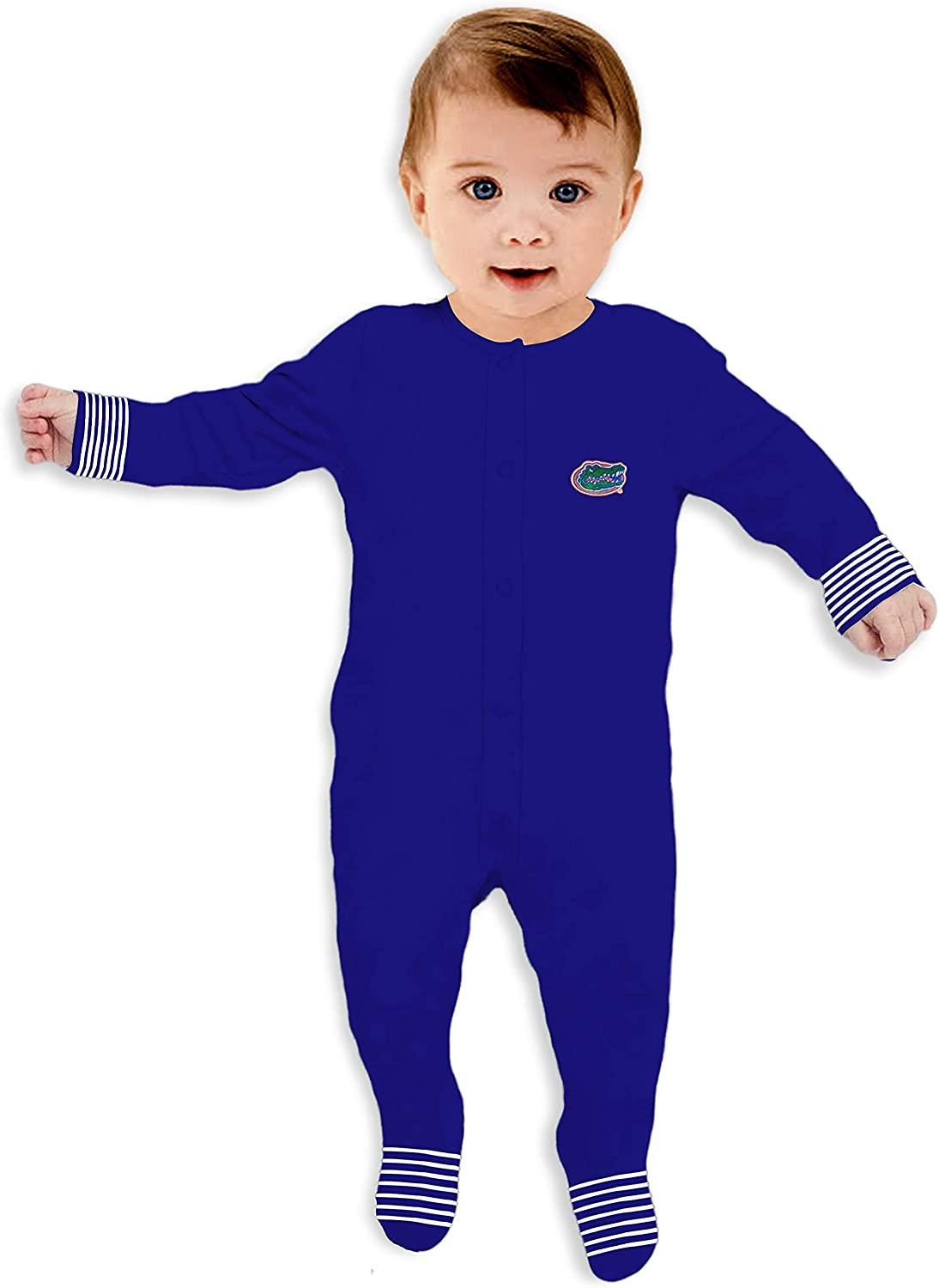 Direct sale supreme of manufacturer Two Feet Ahead - Babies Long-Sleeve Footies Bab College Style