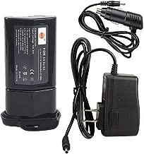 DSTE Replacement for EN-EL18A Li-ion Battery Compatible Nikon MB-D12 MB-D17 MB-D18 Battery Grip