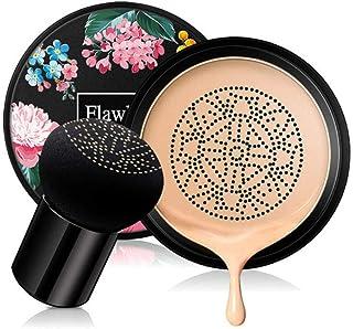 Firstfly Mushroom Air Cushion CC Cream, Moisturizing Concealer Makeup Base Primer BB Liquid Foundation
