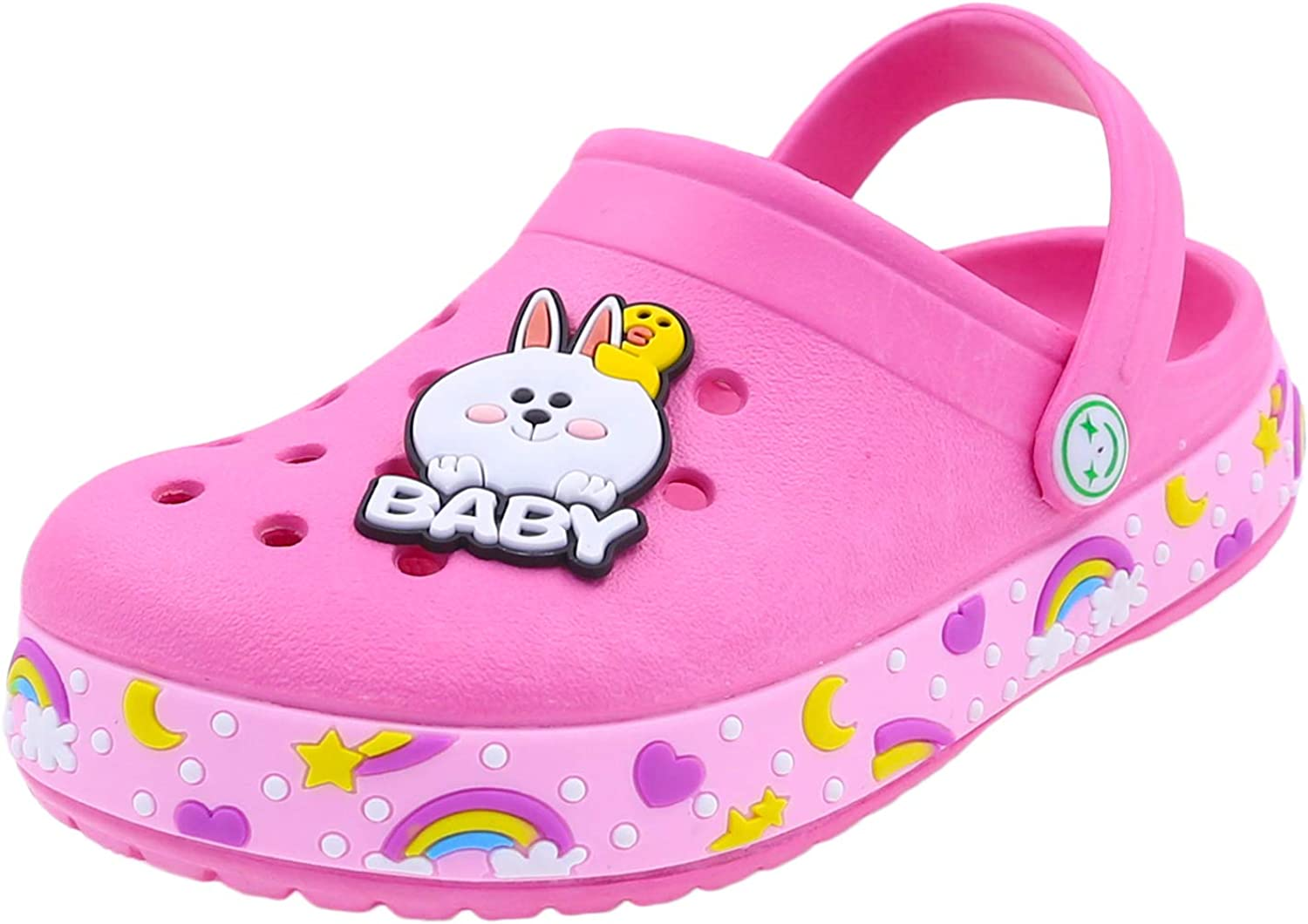 Toddlers Garden Clogs Slipper Kid's Spring new work Unicorn Sandals Clog Today's only Cartoon
