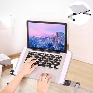 RAINBEAN Adjustable Laptop Stand Table White