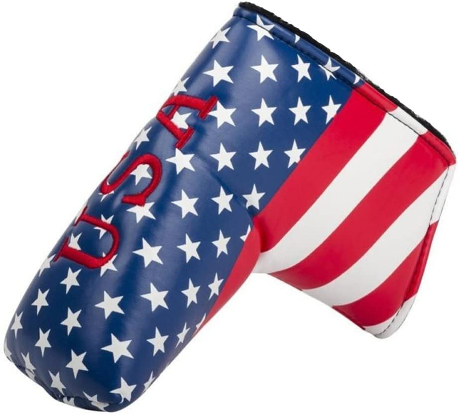 DBYAN Golf Putter Head Covers Headcover Minneapolis Mall Stars American Mesa Mall USA Str
