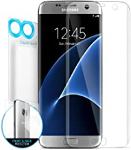 Best samsung galaxy s7 edge screen protector front and back Reviews