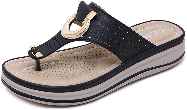 XMYL Women Thong Flip Flops Ultra Comfort Beach Slippers