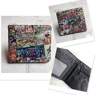 QTRT Portafoglio Naruto del Fumetto di Colore Anime Portafoglio PU Faux Leather Wallet Breve Coin Purse Adatto for Proprie...