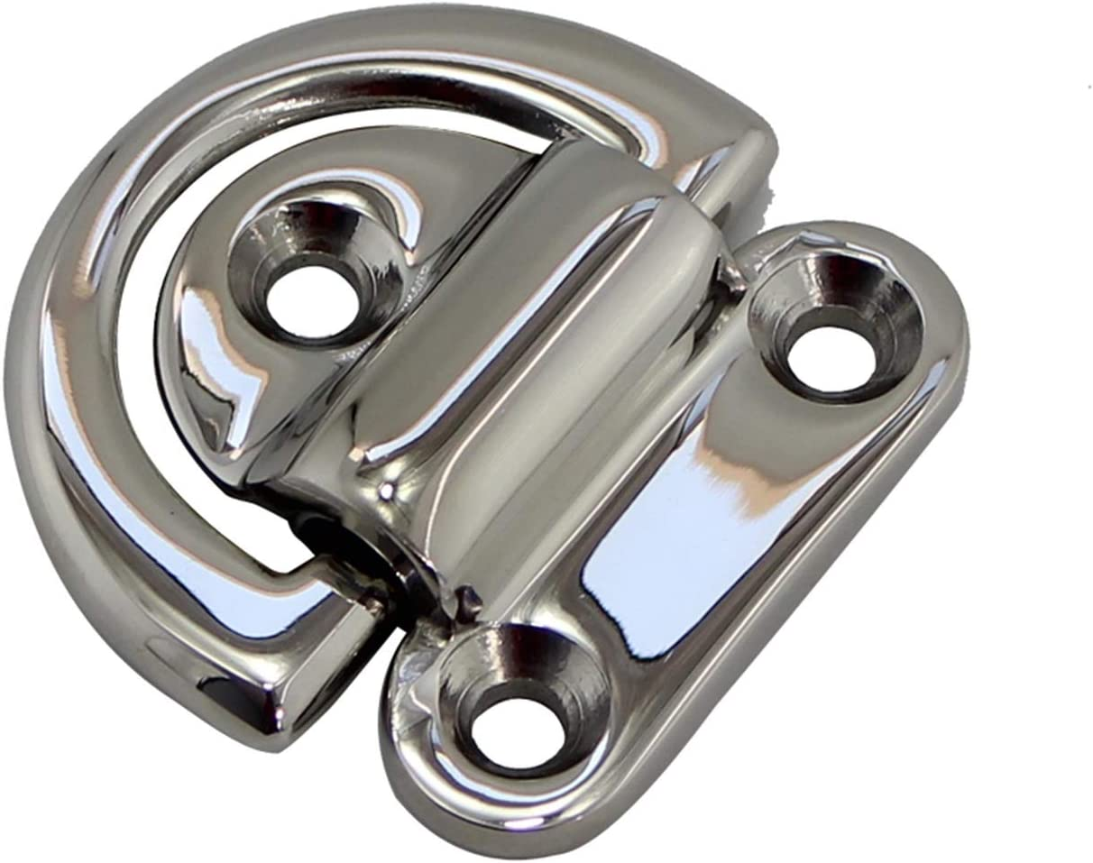 LJGFH Marine Accessories 316 Stainless Folding Eye Pad Mar Steel Fort Worth Mall Bombing free shipping