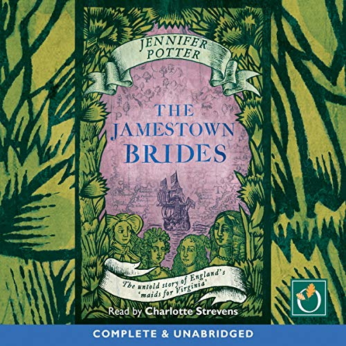 The Jamestown Brides audiobook cover art