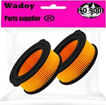Wadoy 951-10794 Air Filter Compatible with 208cc Troy Bilt Roto-Tiller, Replacement MTD 951-14262 (2pcs)