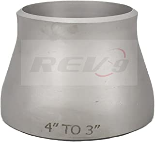 T304 Stainless Steel Concentric Reducer, Butt-Weld - 4.00