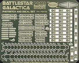 Paragrafix Battlestar Galactica Model Photoetch and Decal Set PGX133