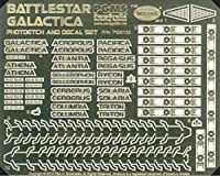 Paragrafix Battlestar Galacticaモデルphotoetchとデカールセットpgx133