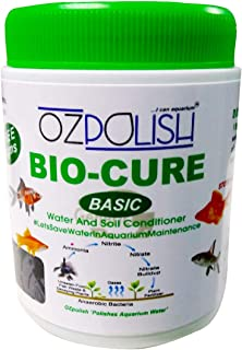 OZPOLISH 'Bio-Cure Basic' by Aquatic Habitat | Aquarium Probiotic and Beneficial Bacteria | Reduce Ammonia, Nitrite and Ni...
