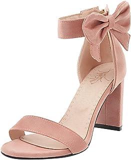 Amazon.es: Sandalias Rosa Palo: Zapatos y complementos