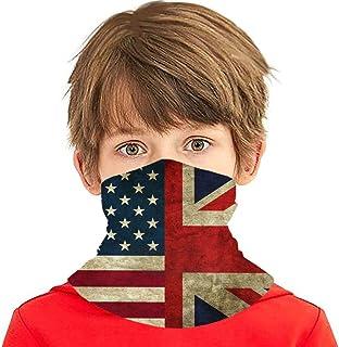 Verctor United States of America-Flag-1gf Summer Cooling Neck Gaiter Face Scarf Mask para niños Adolescentes, pasamontañas...