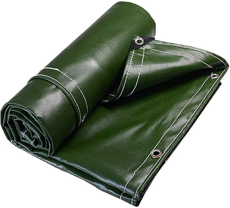 NANWU Grüne Plane Wasserdichtes Hochleistungs Planenblatt für Camping Angeln Gartenarbeit, Dicke 0,7 mm, 700 g   m2-100% wasserdicht und UV-geschützt, 11 für Camping Outdoo