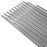 KKmoon 50PCS Low Temperature Aluminum <span class='highlight'>Welding</span> Wire Flux Cored 2mm*500mm Al Soldering Rod No Need Solder Powder