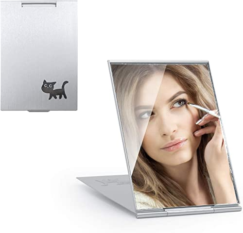 high quality RoomTec Small lowest Travel Makeup Mirror,LED Anti-Fog Bathroom Mirror Home use, Outing wholesale use(5.79x4.21Inch) outlet online sale
