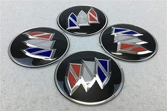 4pcs 60mm Wheel Center Hub Sticker Cover Caps Car Logo Emblem Fit for Buick