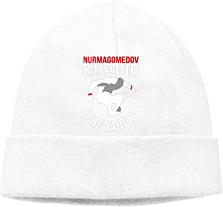 Nidey Khabib-NurmagomedovThe-Eagle Knit Hat Beanies Hat Warm Watch Cap Unisex Stretchy Soft