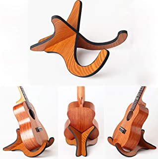 StyleZ Portable Folding Wooden Ukulele Stand Holder for Ukulele mandolins
