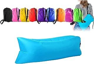 Saco hinchable con aire multiuso: cuna, colchón, hamaca,