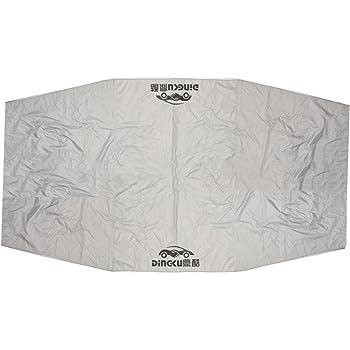 Size : 4X2.1M Tenda Universal Car Panno di protezione anti-UV Auto Ombrello Parasole Coperchio Coperchio Sunproof tessuto Oxford Portable