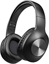 Bluetooth Headphones, LETSCOM 100 Hours Playtime Wireless Headphones Over Ear with Deep Bass,...