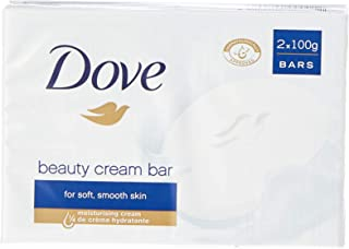 Dove Original Twin Beauty Bar Soap, 100 Grams