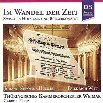 Hummel & Witt: Im Wandel Der Zeit