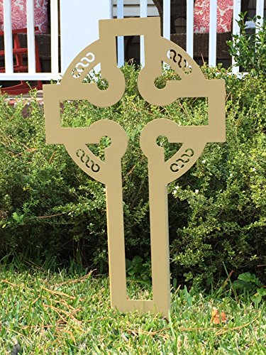 Large Celtic Yard Cross
