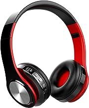 Cascos Bluetooth Inalámbricos, OLTA Auriculares Bluetooth Plegables con Micrófono,Cascos para Móvil y MP3 Reproducir Música, Cascos para iPad, iPhone, Móviles Android, PC