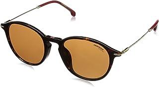 نظارات شمسية بنمط افياتور للجنسين من كاريرا- لون هافانا داكن، 196/F/S