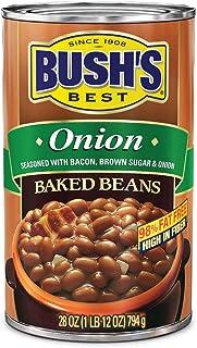 Bush's Best Onion Baked Beans 28 oz