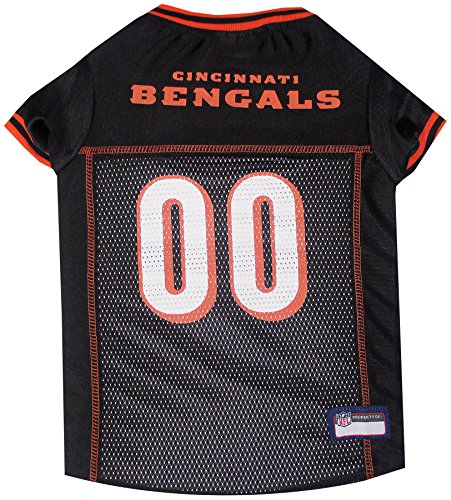 NFL CINCINNATI BENGALS DOG Jersey, Small