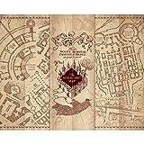 Paladone Rompecabezas de Mapa de Merodeador de Harry Potter (PP7803HP)