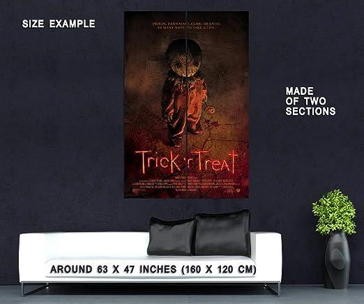 Trick R Treat Horror Movie Film Silk Fabric Poster Print 13x20 24x36 inch
