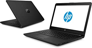 HP Laptop 15.6 Inch ,500 GB,4 GB RAM,Intel Celeron N3060, Black - HP 15-RA008NIA