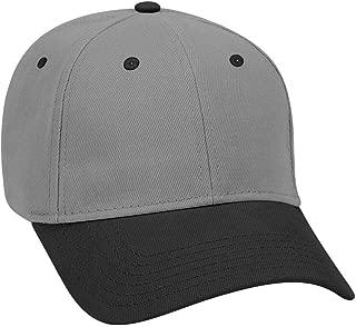 OTTO Brushed Bull Denim 6 Panel Low Profile Baseball Cap