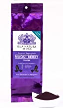 Premium Pure 100% Organic Maqui Berry Powder   Wild Maqui Grown & Processed at Source in Patagonia   Freeze Dried   High A...